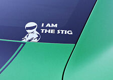 I AM THE STIG Sticker Decal Mazdaspeed Mazda JDM Euro Tuning Top Gear