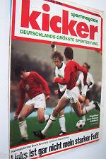 Kicker Nr.44  28.05.1973  Sportmagazin Flügelflitzer Erwin Kremers Schalke 04
