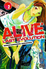 ALIVE  LAST EVOLUTION    MANGA  N°  2    PIKA  EDITION