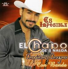 El Chapo De Sinaloa Es Imposible CD New Nuevo Sealed