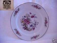Fashion Manor Wood Flower Bread And Butter Plate