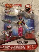 Power Rangers Dino Super Charge Dino Steel Pink Ranger