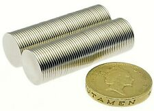 """Super Strong Magnets 1/2"""" x 1/32"""" Powerful * 0.5Kg PULL * Thin Small Disc Magnet"""