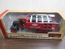 Kenworth Stake Truck w/Barrels Die Cast Ertl True Value Hardware 120114 00006000 am