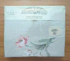 AMERICAN HOMES ** TWIN SHEET SET ** NEW n Package