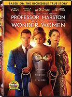 PROFESSOR MARSTON AND THE WONDER WOMEN DVD - SINGLE DISC EDITION - NEW UNOPENED