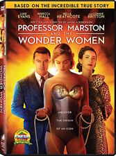 PROFESSOR MARSTON AND THE WONDER WOMEN DVD - SINGLE DISC EDITION - NEW UNOPENED