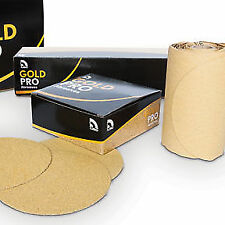 "6"" Grip P180 Gold Paper U. S. Chemical & Plastics 082410 USC LP"