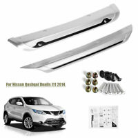 Front + Rear Bumper Board Guard Plate Fender for Nissan Qashqai Dualis J11 2014