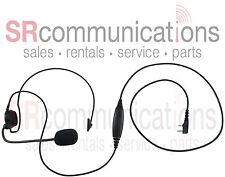 Single ear behind the head PTT headset Kenwood TK2160 TK3160 TK272G TK372G 3200