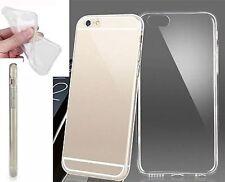 """Funda de Gel TPU ultra fina cristal transparente para Iphone 6 6S (4,7"""") nueva"""