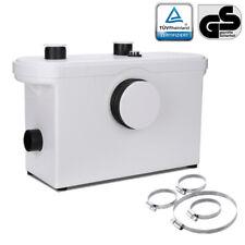 Hebeanlage PRO Abwasserpumpe Waschbecken Sanitär 600W pumpe Fäkalienpumpe