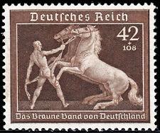 Deutsches Reich 699 ** Das Braune Band von Deutschland 1939, postfrisch