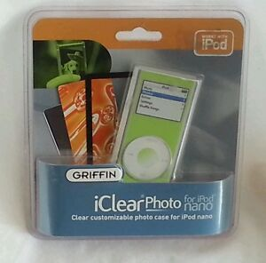 Photo Case For Ipod Nano Griffin iClear Green