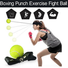 Reflex Boxing Trainer Punching Speed Traning Ball Fight Ball With Head Band Hot