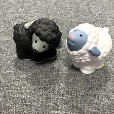 Fisher-Price Little People 2x SHEEP for SHEPHERD NATIVITY Christmas Barn Rar