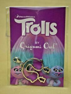 Origami Owl - Dreamworks Trolls Satin & Chenille Personality Dangle #DG4077 New