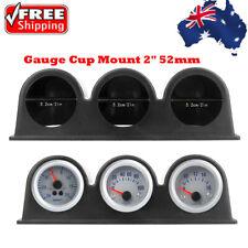 "Triple Three Auto Car Gauge Meter Pod Holder Cup Mount 2"" 52mm"