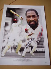 West Indies Cricket Autographed Signed Cricket Photos