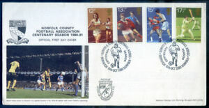 Great Britain 1980 Sport set 4 official first day cover, fine (2020/11/03#02)