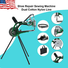 New listing Shoe Repair Machine Making Sewing Hand Manual Cotton/Leather/Nylon Needle Diy