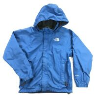 The North Face HyVent Womens Small Blue Shell Full Zip Hooded Jacket