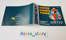 Nintendo Game Boy - Super James Pond - Notice - Instruction Manual - FAH