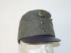 AUSTRIAN AUSTRO HUNGARIAN ARMY WW1 REPRO FIELD GREY CAP HAT Sz61 (7 5/8 US) 1916