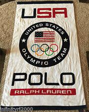 NEW POLO RALPH LAUREN TEAM USA BEACH TOWEL 2017 OLYMPIC TEAM