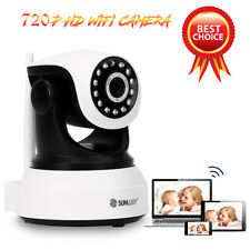 SUNLUXY CCTV Wifi IP Camera Wireless SL-C702 720P HD P2P Security IR Network Cam