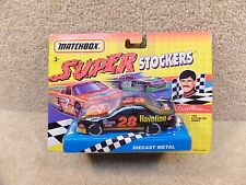 New 1992 Matchbox Diecast NASCAR Super Stockers Davey Allison Daytona 500 Winner