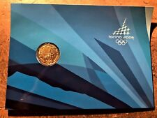 ITALY TURIN TORINO 2006 OLYMPICS MEDAL in PHILATELIC - NUMISMATIC COMMEMORATIVE