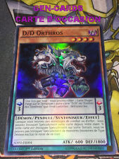 Occasion Carte Yu Gi Oh D/D ORTHOS SDPD-FR004 1ère édition