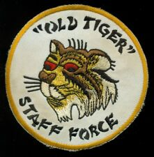 USAF Young Tiger Citerne Force Vieux Tigre Bâton Force Kadena Patch S-23