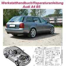 Werkstatthandbuch Reparaturanleitung  Audi A4-B5 1995-2000