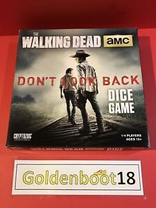 WALKING DEAD DON'T LOOK BACK BOARD DICE GAME ADULT PARTY FAMILY ** COMPLETE **