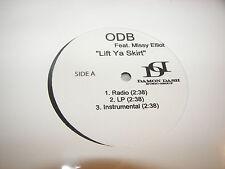 "ODB w/Missy Elliot Lift Ya Skirt 12"" Single NM Daman Dash PROMO"