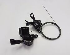 Shimano Deore XT SL-M8000 Bicycle Shifter Set Black / Pair