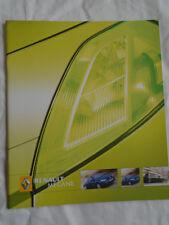 Renault Megane range brochure Aug 2005