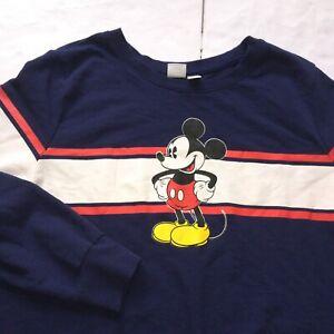 Disney Mickey Mouse Sweatshirt Sz 2X Womens/Youth See Measurements