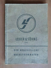 Handbuch Loher Drehstrom-Motor DC DCS eECS ECt ECk MCt WMC Wippe B V ADC MC DAB