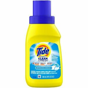 Tide Simply Clean & Fresh Liquid Laundry Detergent, Refreshing Breeze, 10 fl oz