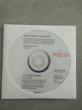 Fujitsu W10 pro  DVD de restauration 64 bits neuf emballage d'origine