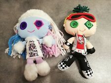 Monster High Friends Plush Abbey Abominable Doll Deuce Gorgon