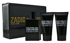 Zadig & Voltaire This is Him 50ml Eau de Toilette &  2x 50ml Showergel
