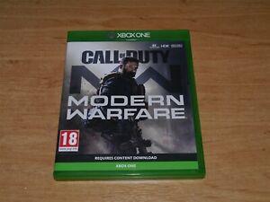 Call of duty Modern warfare Game for Microsoft XBOX ONE