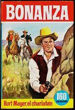 """Col. HÉROES nº 16: BONANZA """"Burt Mayer, el charlatán"""". BRUGUERA, 1ª ed. 1963"""