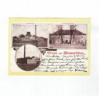 AK Ansichtskarte Wasserleben / Zuckerfabrik / Ziegelei / Fürstliche Domäne