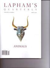 B00CCTCQ5E LAPHAMS Quarterly - ANIMALS - Volume VI, #2. Spring 2013.