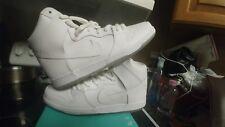 Nike SB Dunk Hi Whiteout Ice jedi skunk jordan 305050-113 White sz 12 air max 1